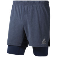 Reebok One Series 2 in 1 Fitnessshorts