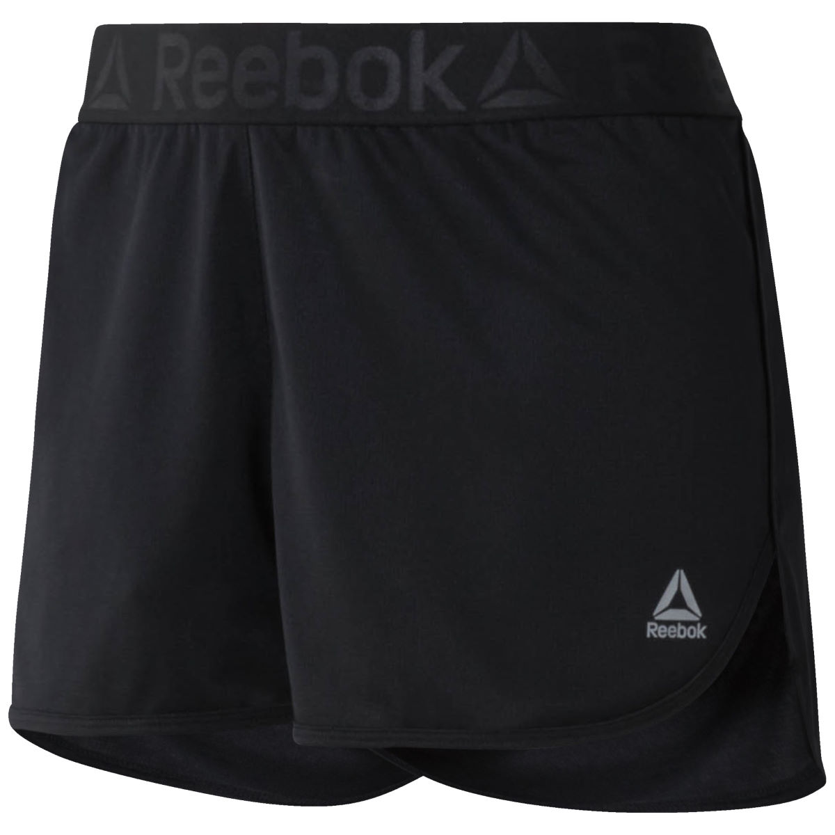 Short Femme Reebok Workout Ready - XS Noir Shorts de running