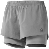 Short Femme Reebok One Series Run (2 en 1)