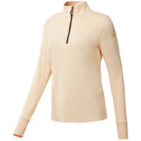 Reebok Womens One Series Long Sleeve 1/4 Zip