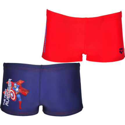 Arena - Boy's Captain America Marvel Kids Shorts