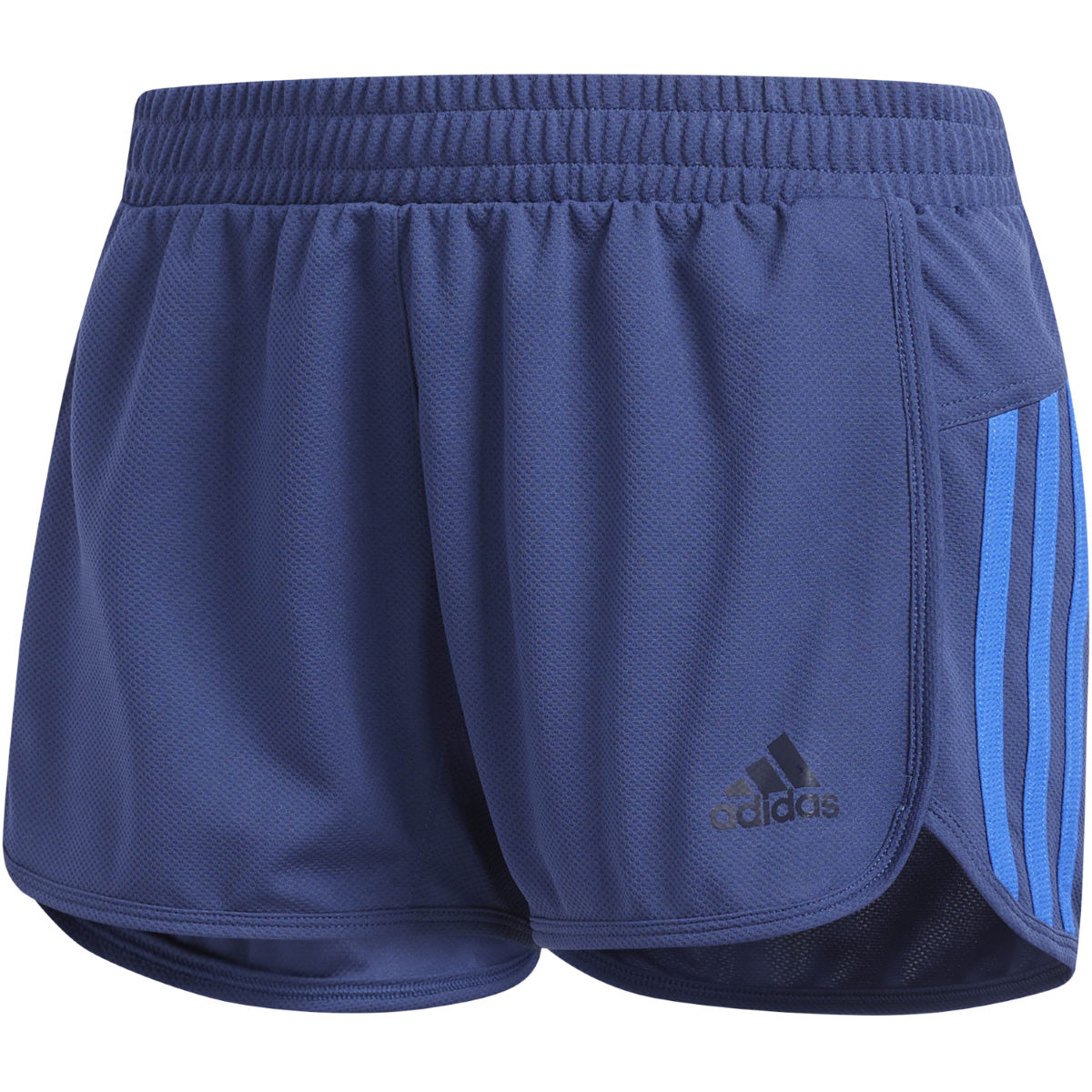 Short Femme adidas D2M (en mailles) - Medium NOBLE INDIGO