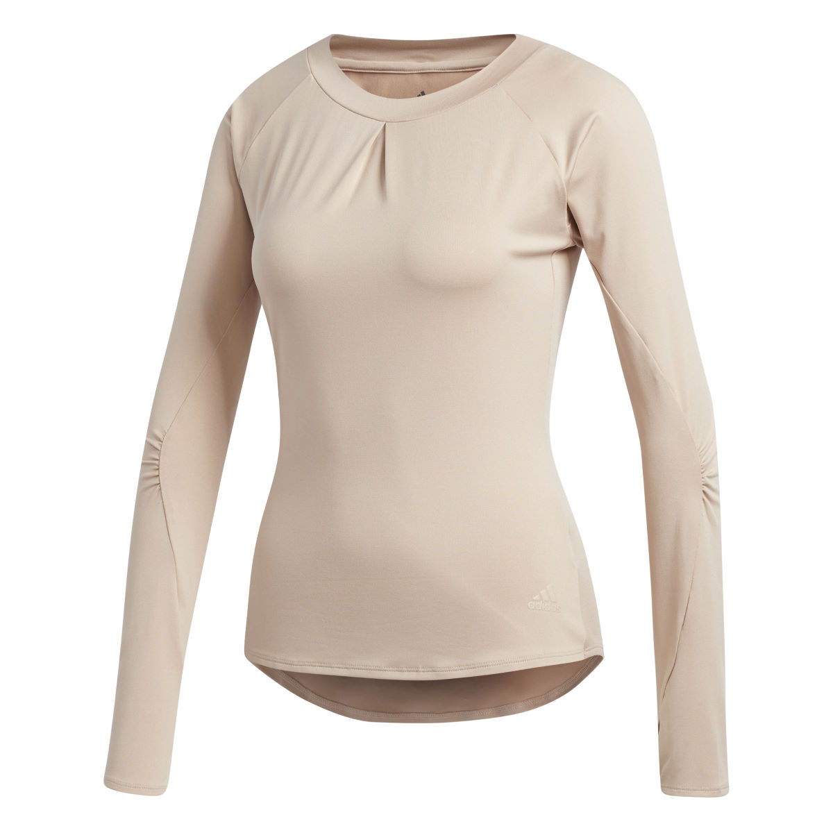 Maillot Femme adidas TKO UV (manches longues) - Small ASH PEARL