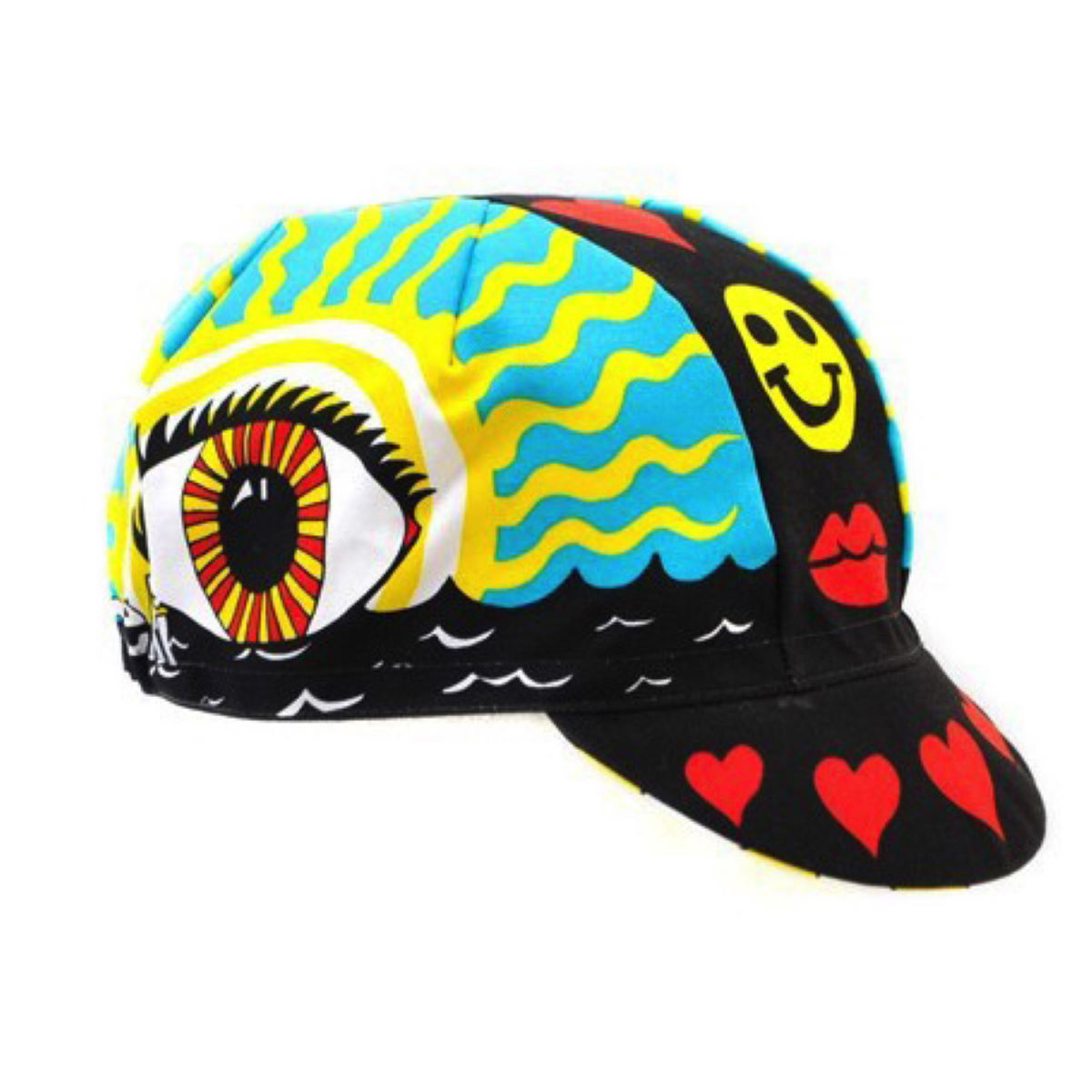 Casquette Cinelli Eye of the Storm (coton) - Taille unique Multi