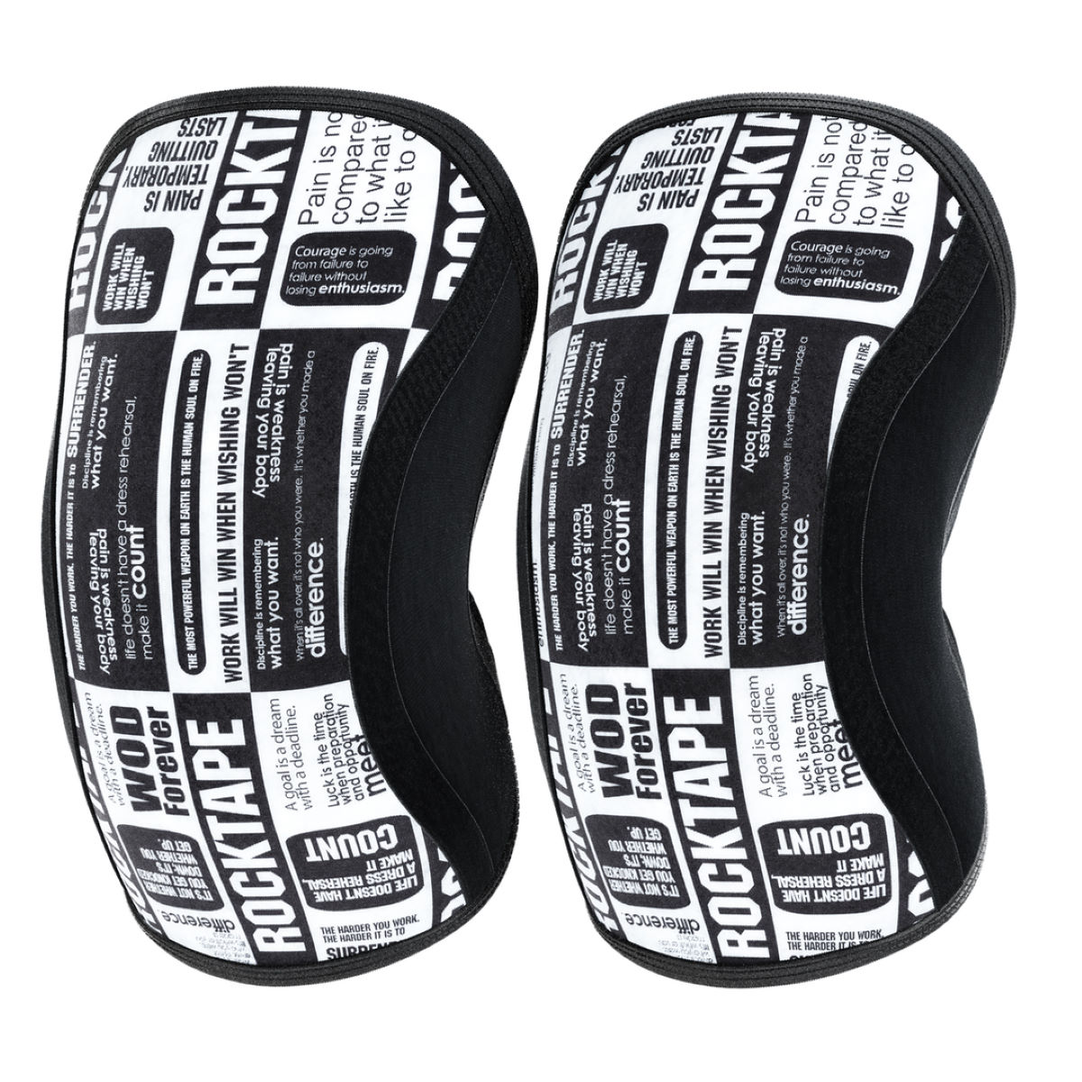 Rodilleras Rocktape Assassin (5 mm) - Lesiones