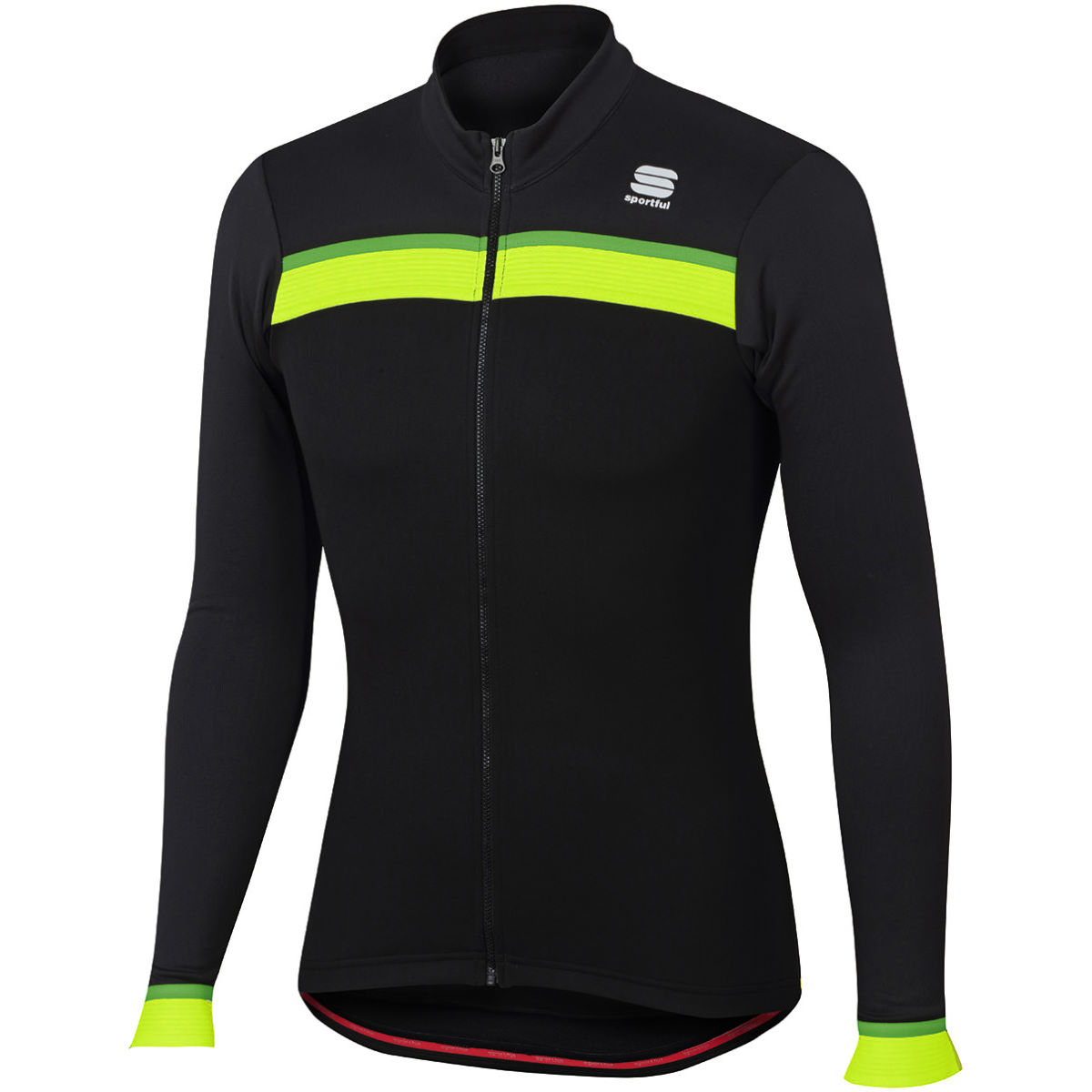 Maillot Sportful Pista Thermal (manches longues) - M Noir/Anthracite
