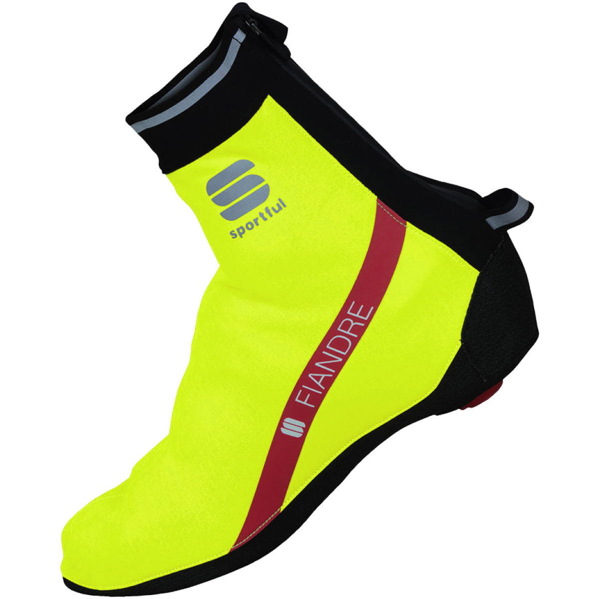 Couvre-chaussures Sportful Fiandre Windstopper - XXL Yellow Fluo