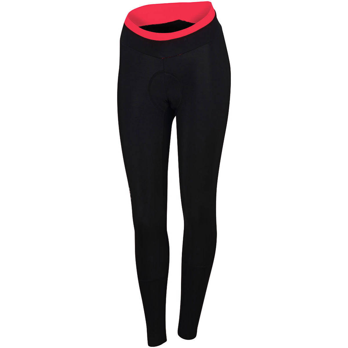 Cuissard long Femme Sportful Luna Thermal - M Black/Coral Fluo