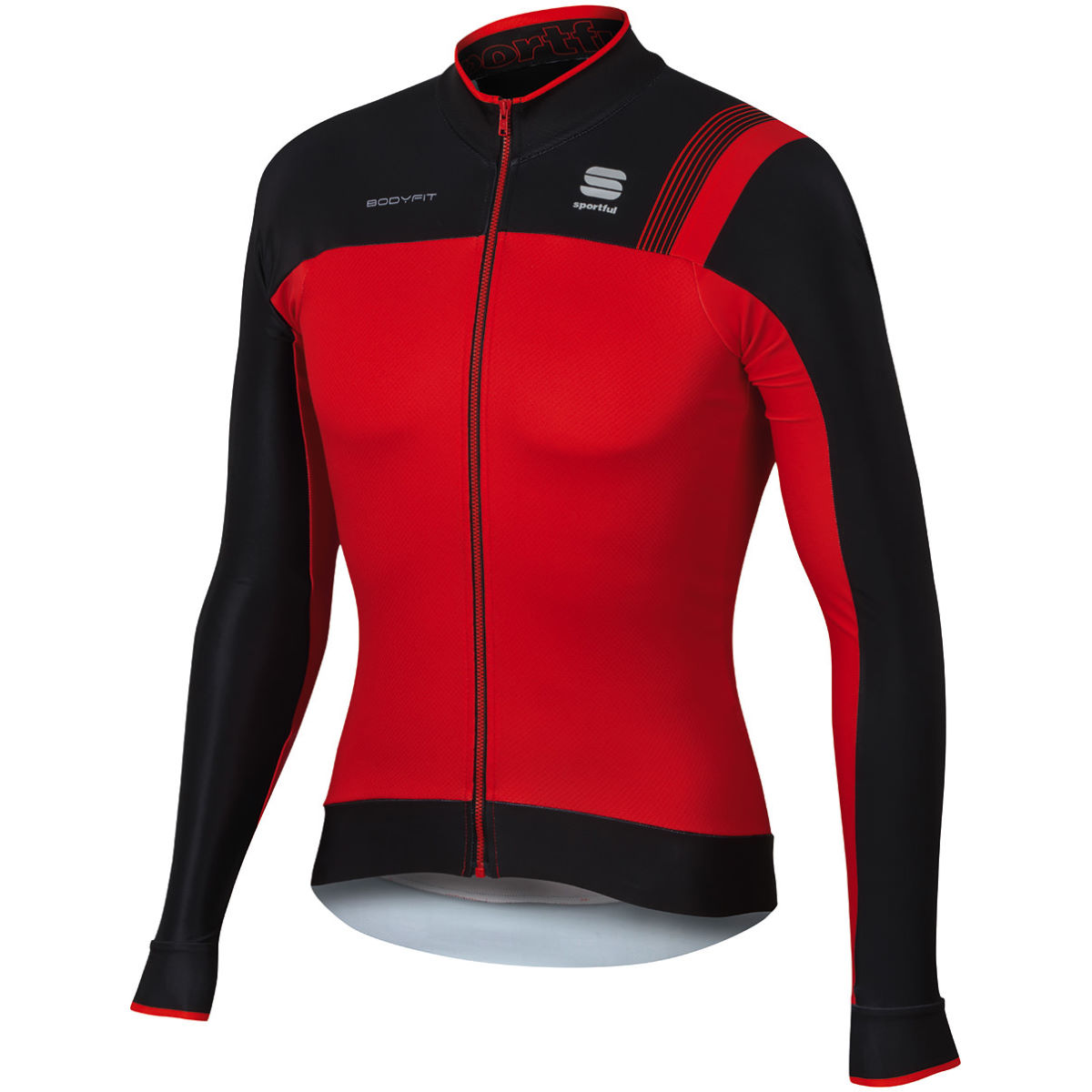 Maillot Sportful BodyFit Pro Thermal - XL Red/Black/Fire Red