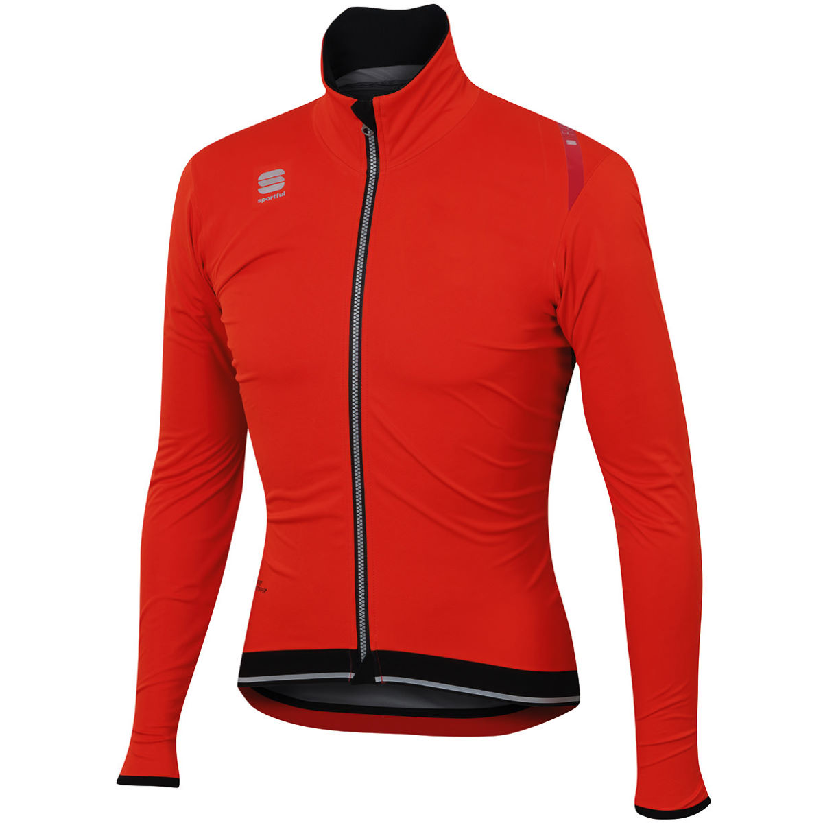 Veste Sportful Fiandre Ultimate Windstopper - L Fire Red/Black