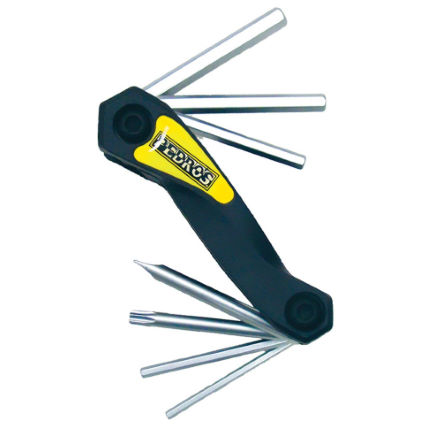 Pedros Folding Hex Set with Torx 25