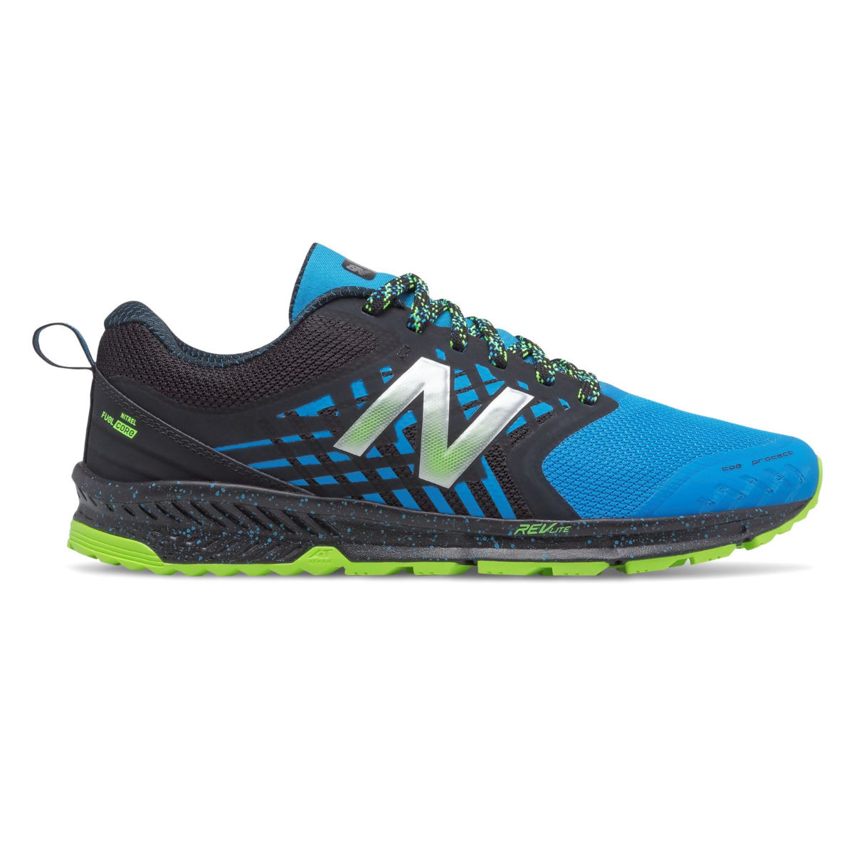 Chaussures New Balance Fuel Core Nitrel - UK 11 Noir/Bleu