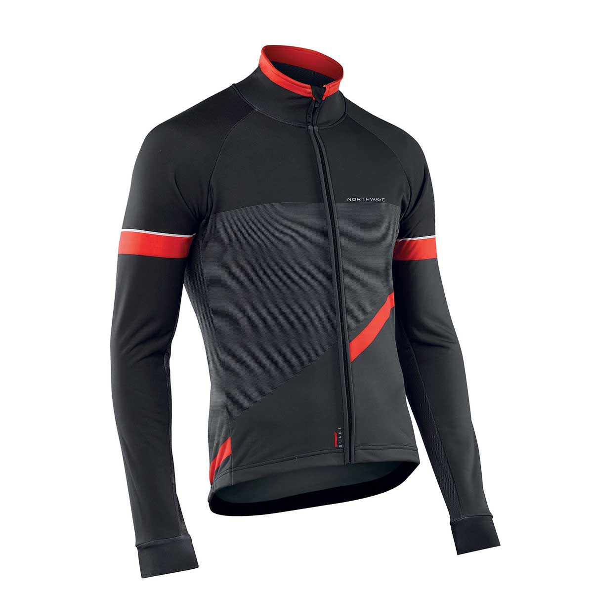 Northwave - Blade 2 Jacket - M Camo Black/Red Coupe-vents vélo