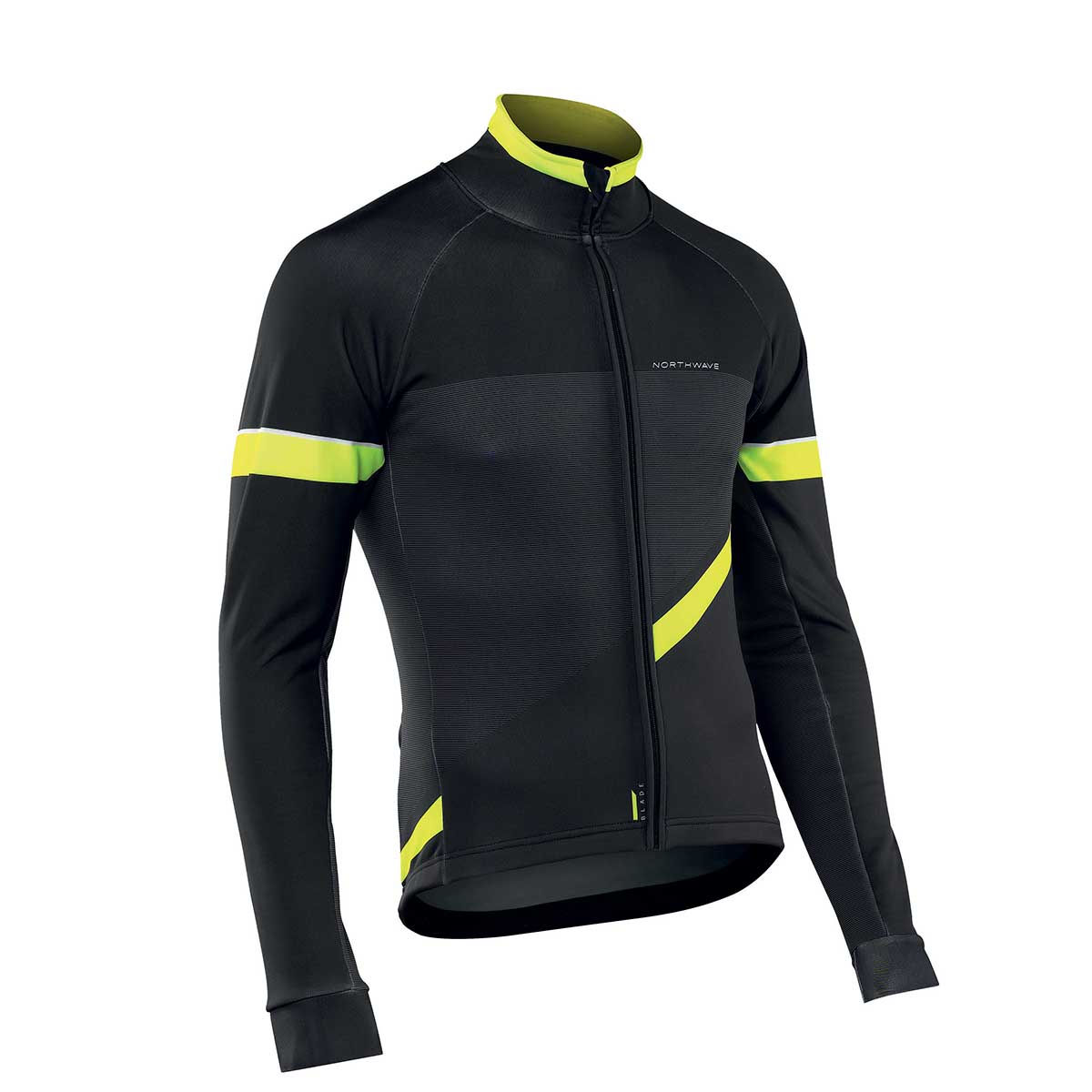Northwave - Blade 2 Jacket - M Camo Black/Yellow Coupe-vents vélo