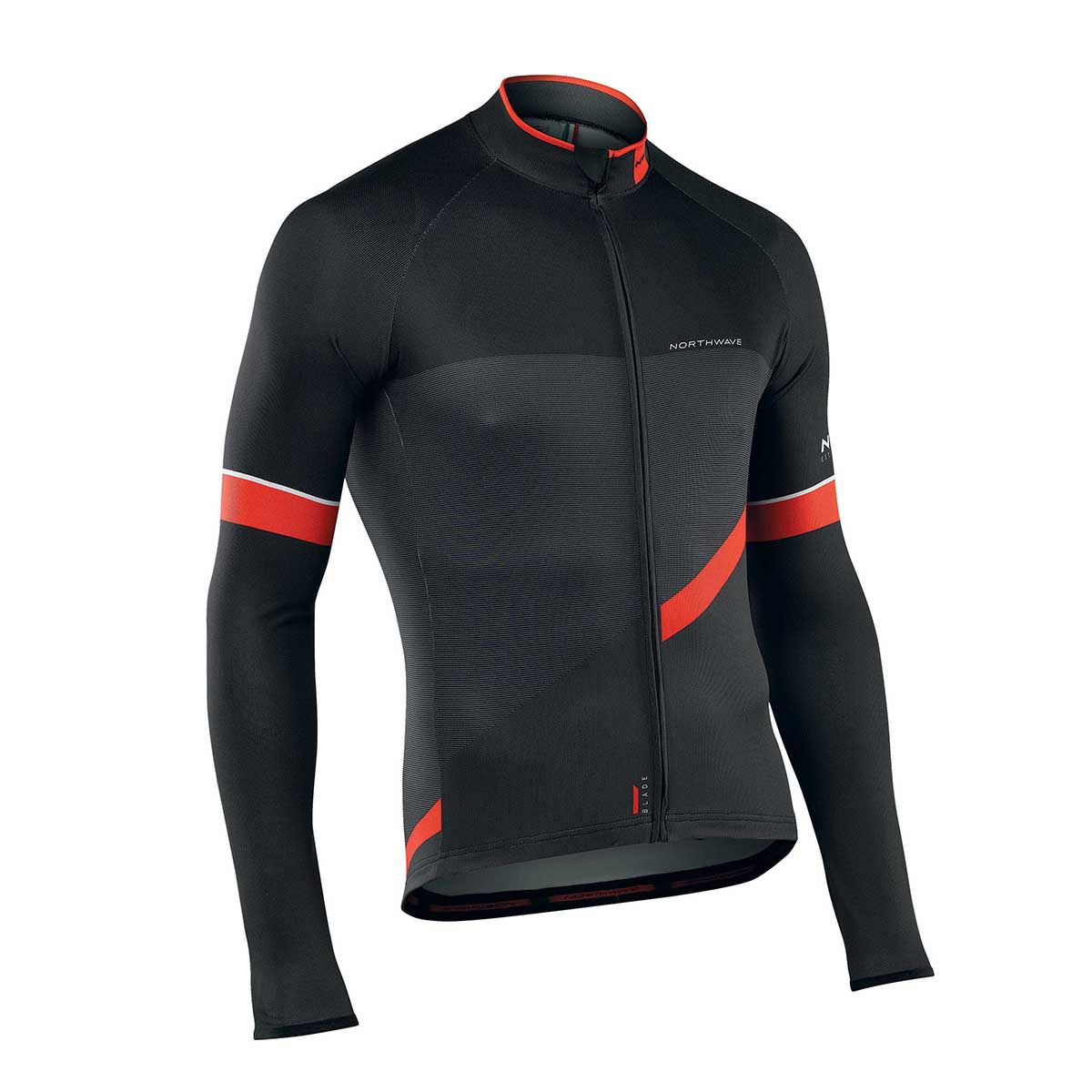 Maillot Northwave Blade 2 (manches longues) - M Noir/Rouge