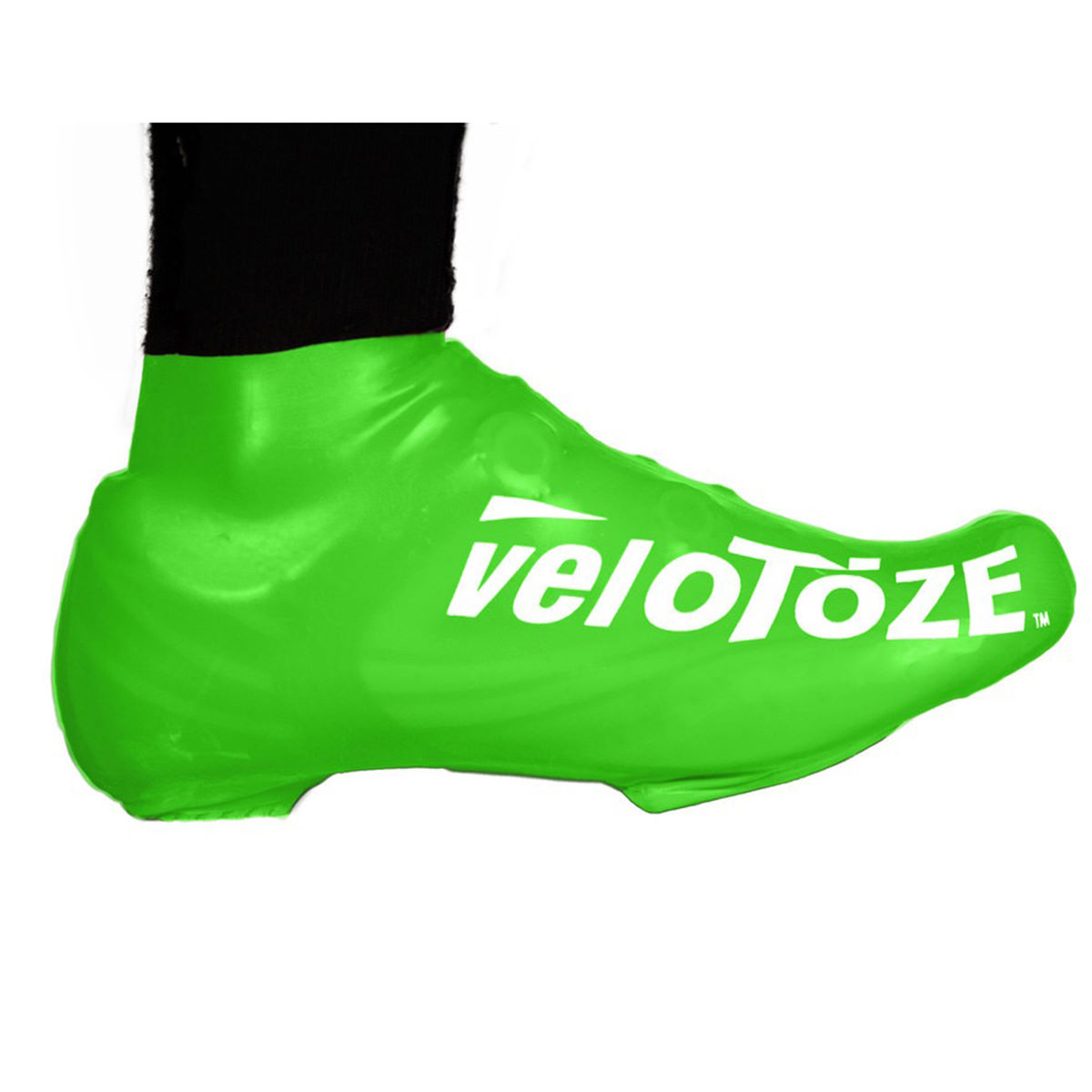 Couvre-chaussures VeloToze Short - S/M Vert Couvre-chaussures