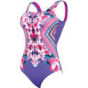 Zoggs Womens Havana Poolside Squareback Swimsuit