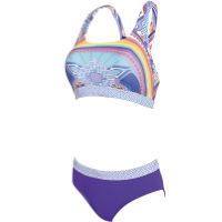 Zoggs Womens Lara Muscle Two Piece Swimsuit