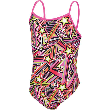 Zoggs Girl's Starburst Yaroomba Floral Swimsuit