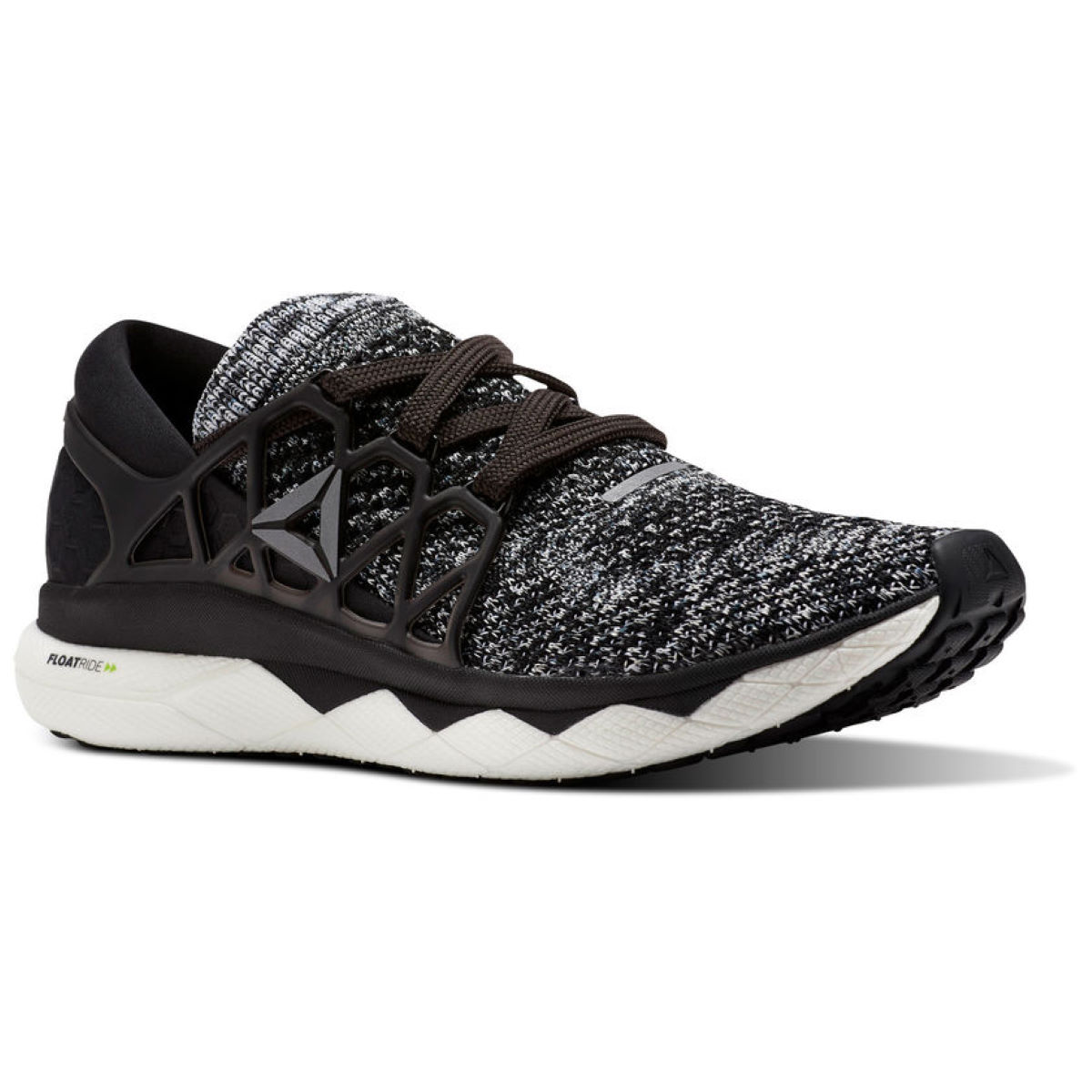 Reebok Floatride Run Shoes - UK 9.5 BLACK/COAL/WHITE