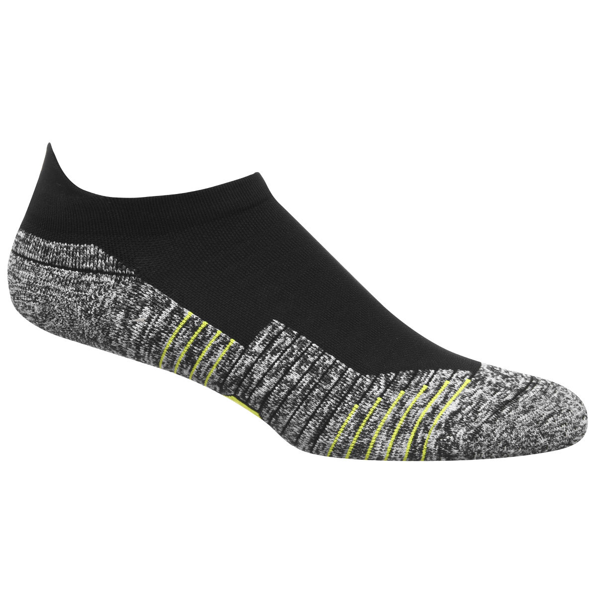 Chaussettes Under Armour Charged Cushion No Show Tab - M Noir