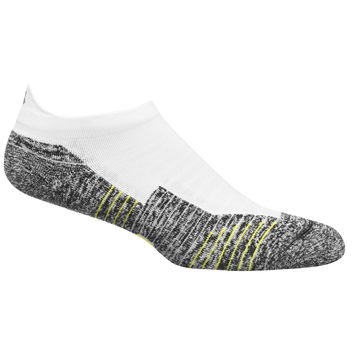 Chaussettes Under Armour Charged Cushion No Show Tab - M Blanc