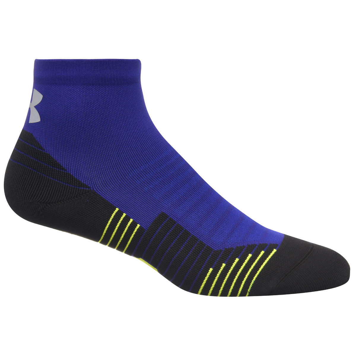Chaussettes Under Armour Charged Cushion Quarter - M Formation Blue