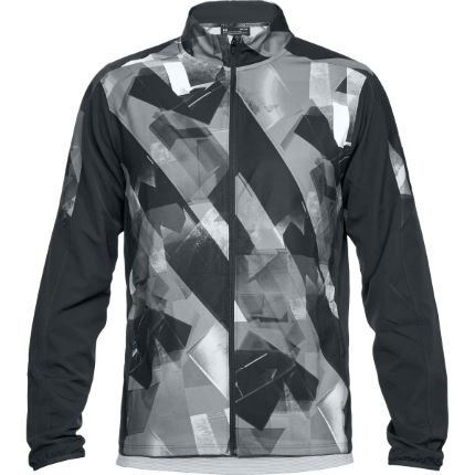 Under Armour Out and Back SW Printed Run Jacket