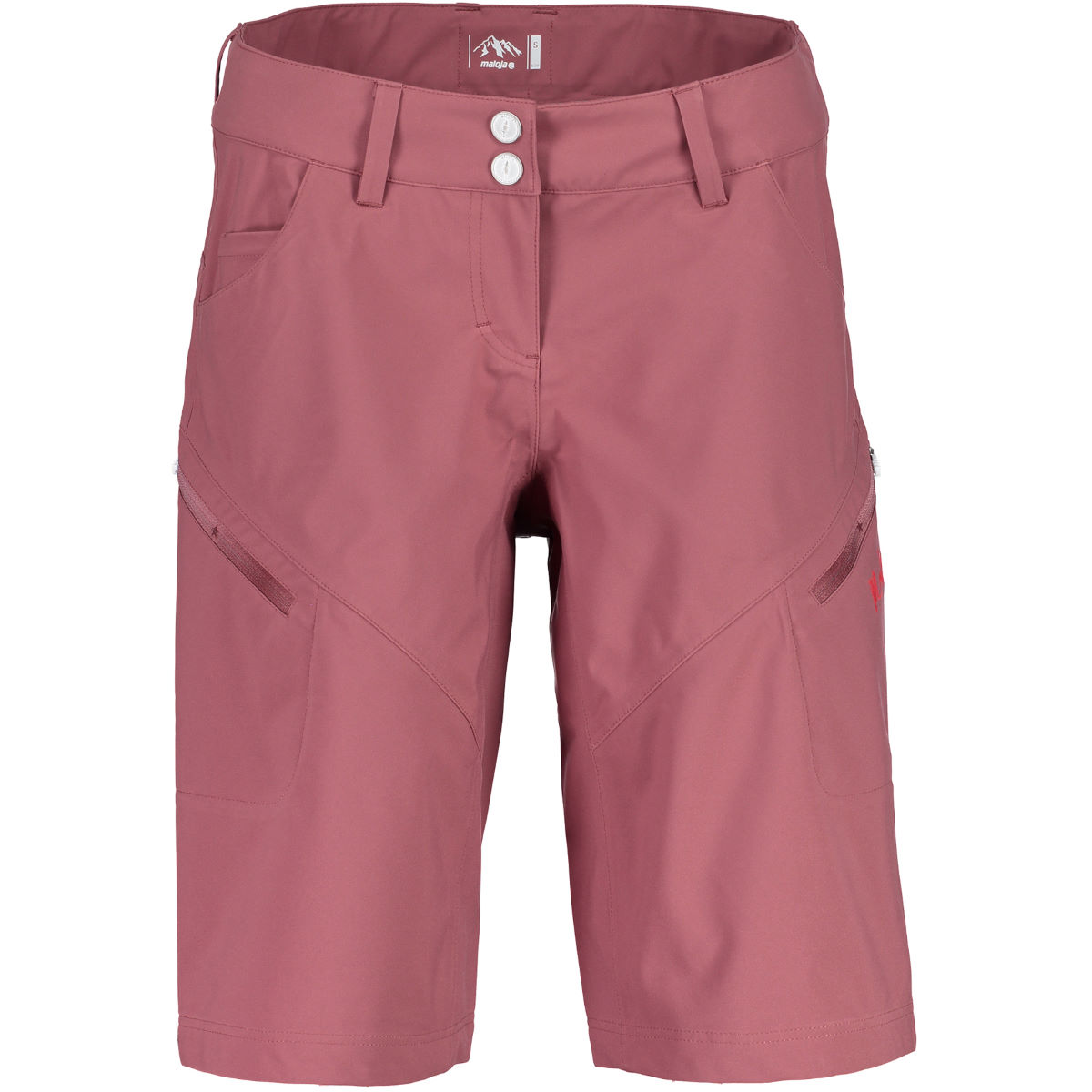 Short Femme Maloja SeoulM Freeride - S Frosted Berry Shorts VTT