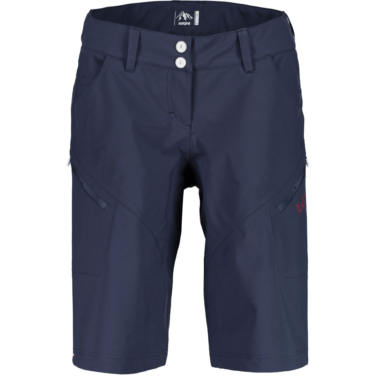 Short Femme Maloja SeoulM Freeride - S Mountain Lake Shorts VTT