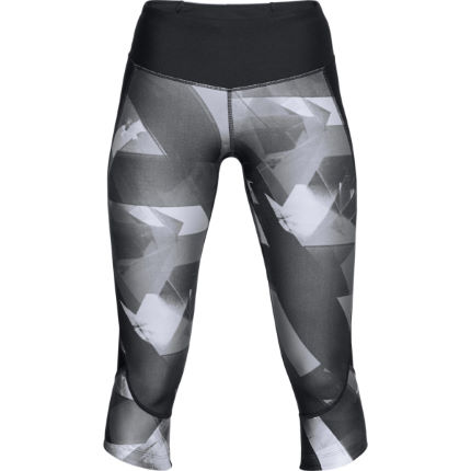 Under Armour Women's Superfast Printed Run Capri