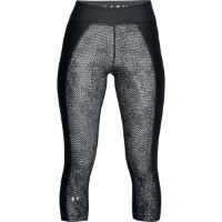 Under Armour HeatGear Armour Printed Capri Laufhose Frauen