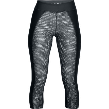 Under Armour Women's Armour HeatGear Printed Capri