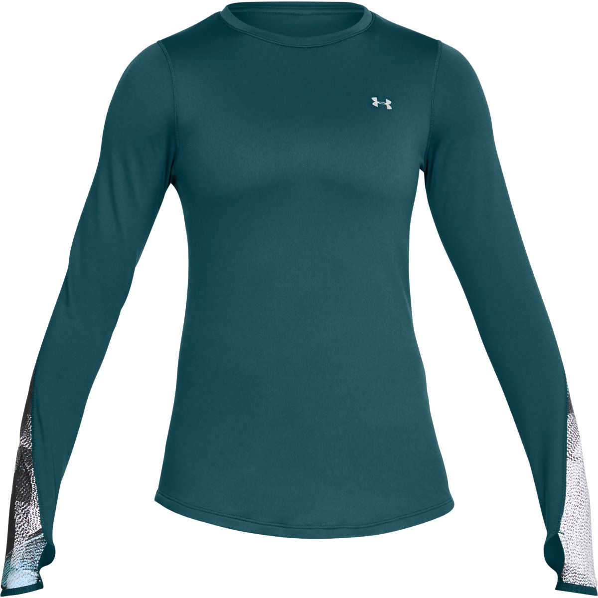 Under Armour Women's ColdGear Fitted Novelty Crew - L