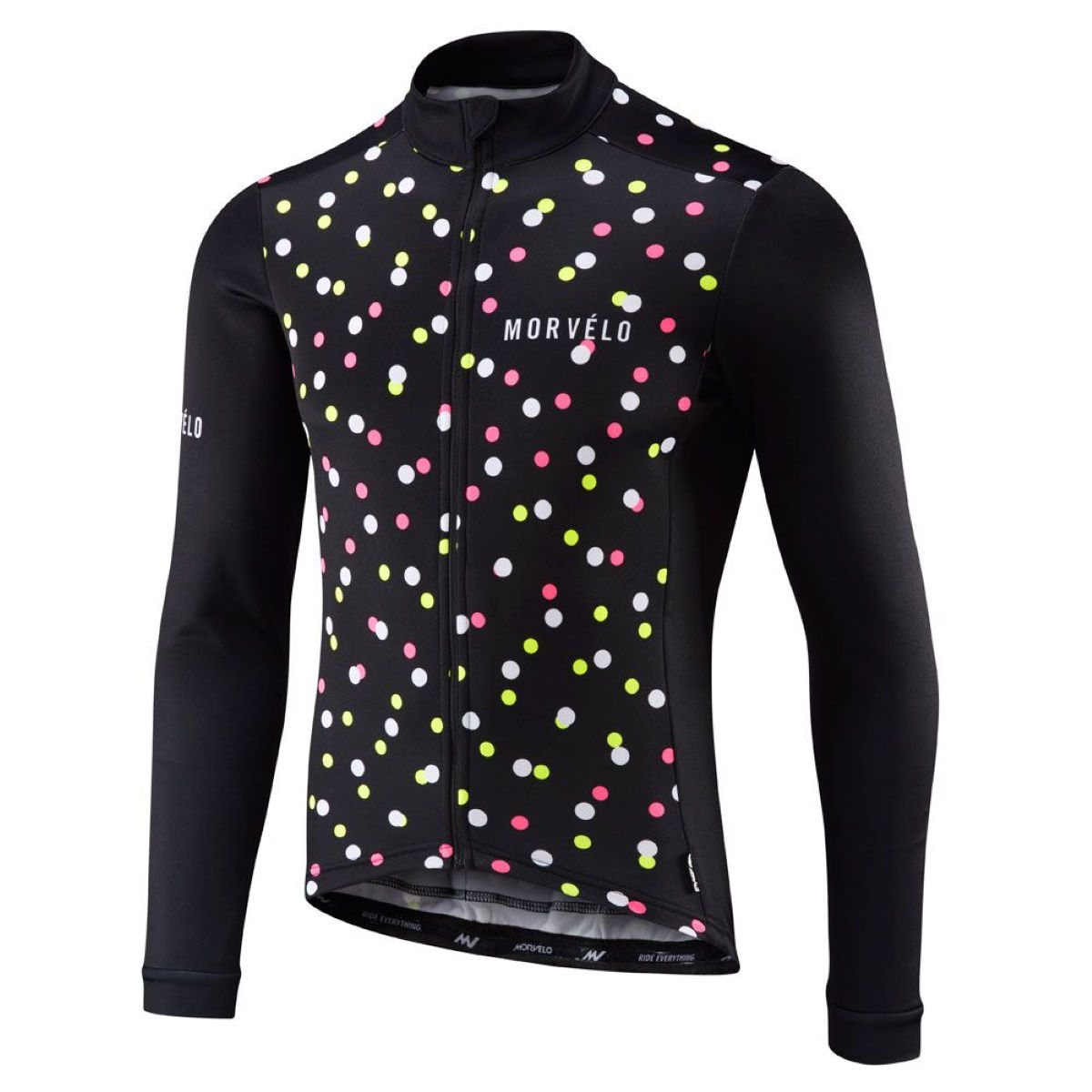 Maillot Morvelo Gumball Thermoactive (manches longues) - M Gumball