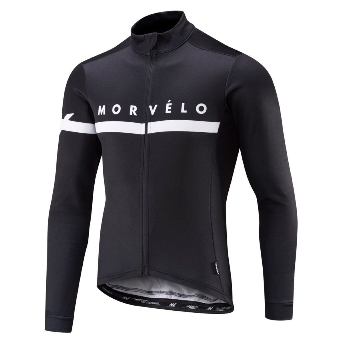 Maillot Morvelo Kuler Thermoactive (manches longues) - M Noir