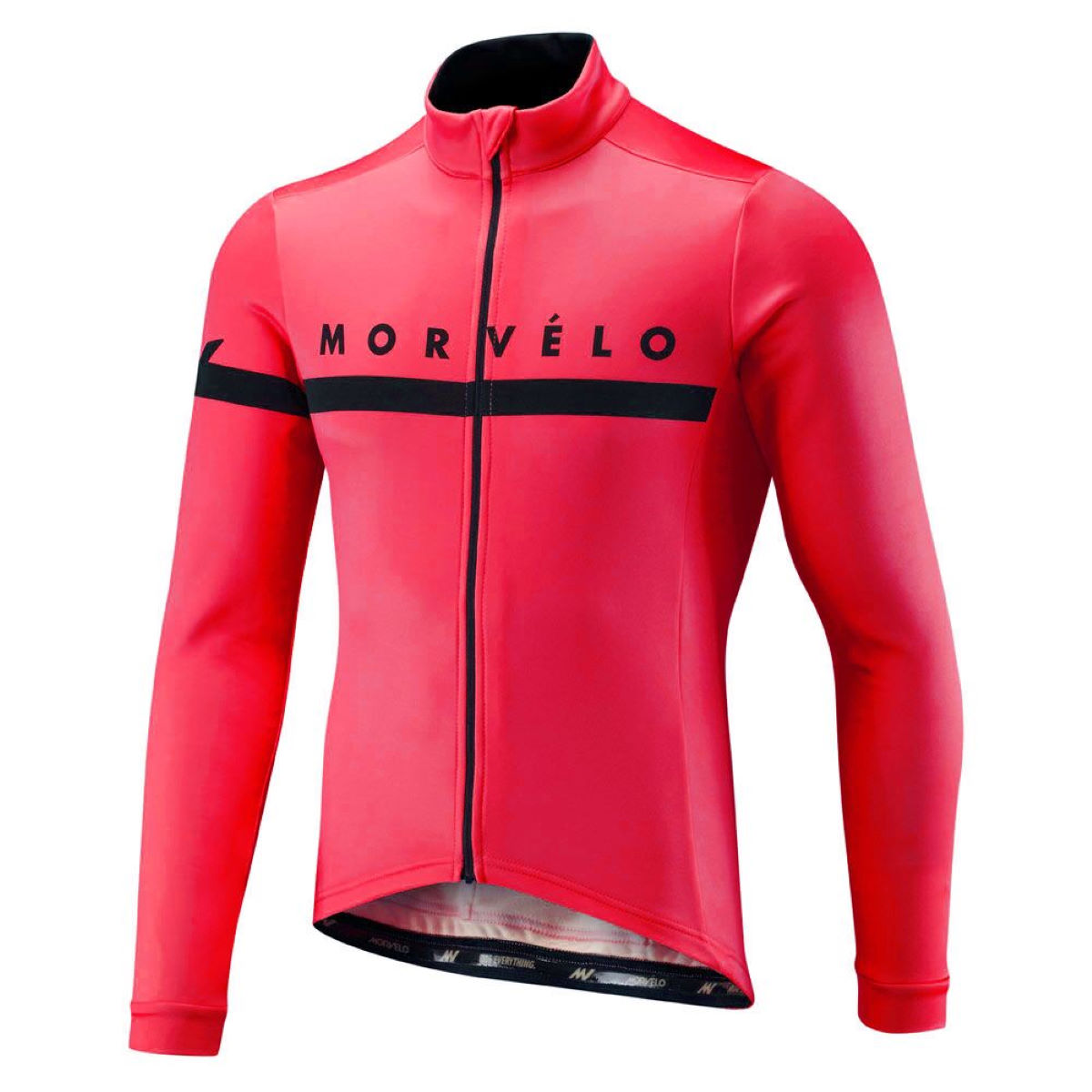 Maillot Morvelo Kuler Thermoactive (manches longues) - M Kuler Red