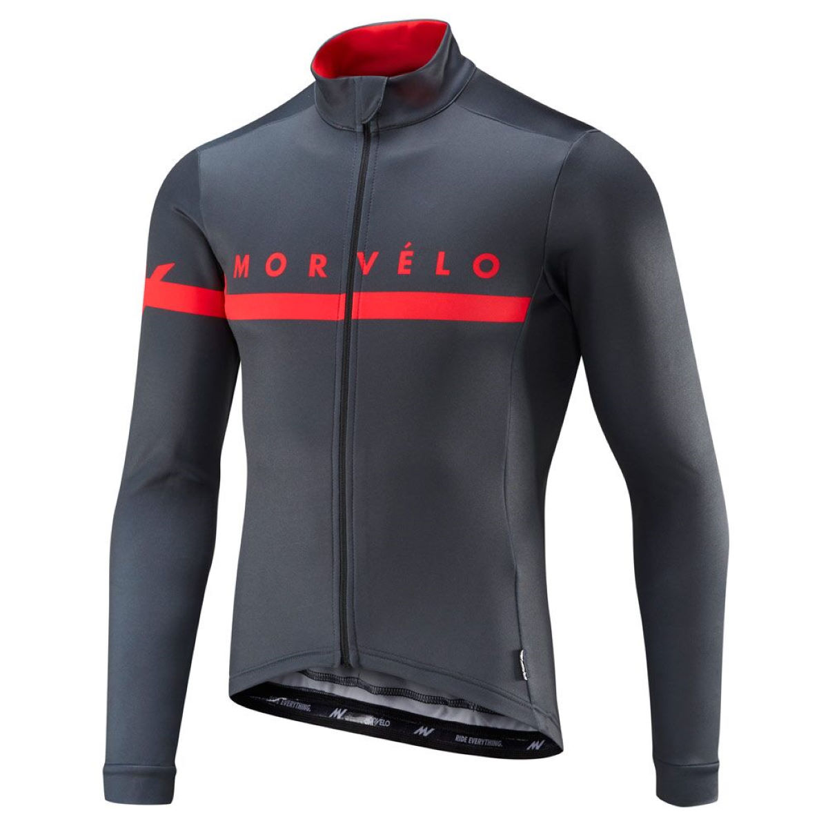 Maillot Morvelo Kuler Thermoactive (manches longues) - M Gris