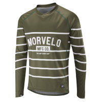 Morvelo Stripes Long Sleeve MTB Jersey