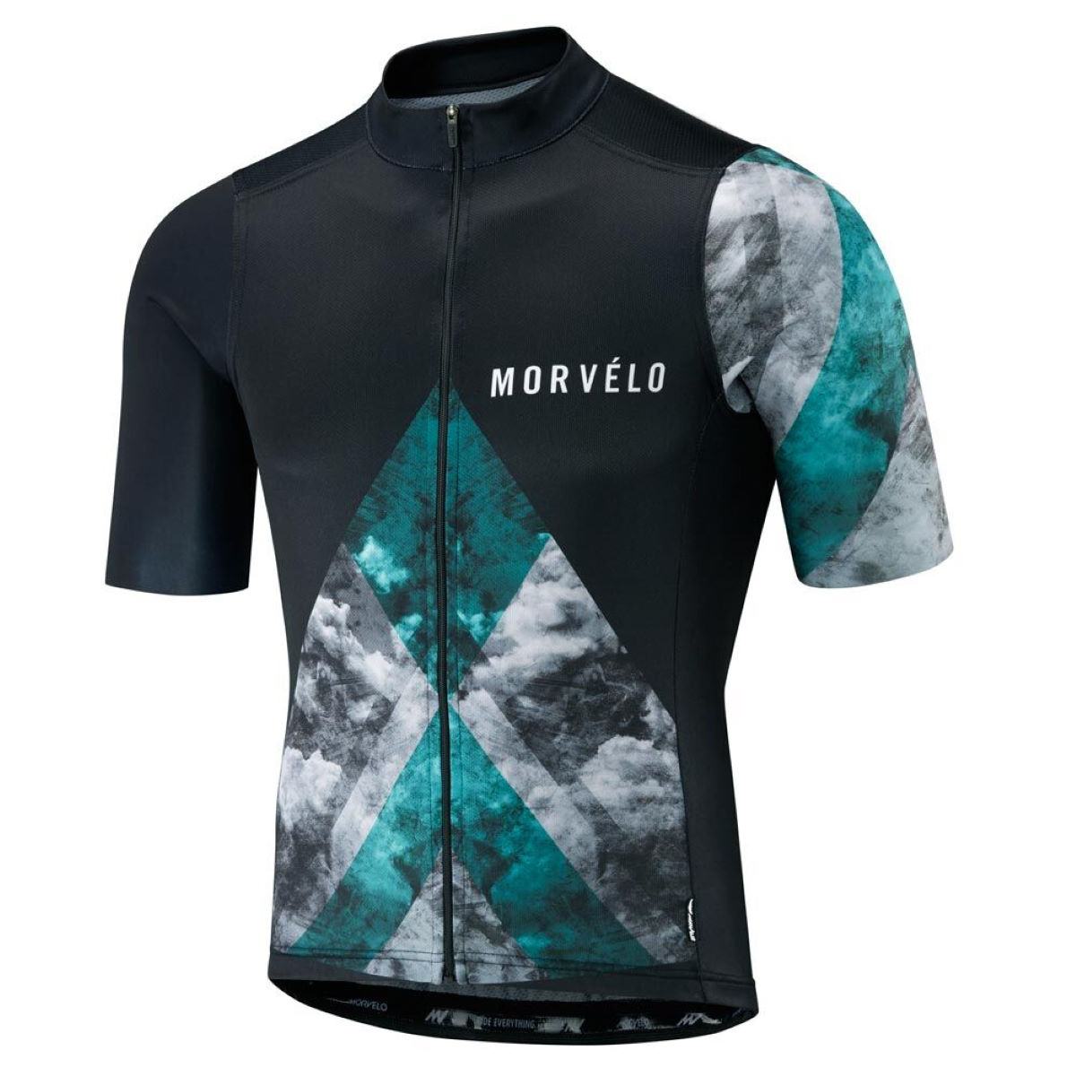 Maillot Morvelo Blackwater (manches courtes) - M Blackwater
