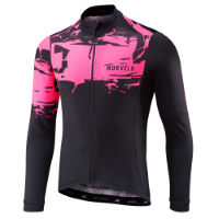 Morvelo Serig Thermoactive Long Sleeve Jersey:Black/Yellow