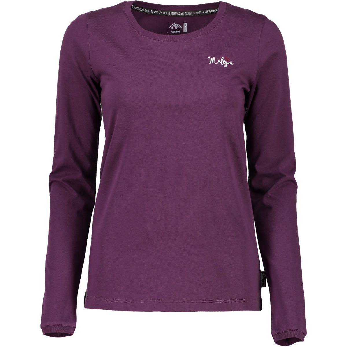 Maillot Femme Maloja EsbjergM. (manches longues) - XL Plum T-shirts