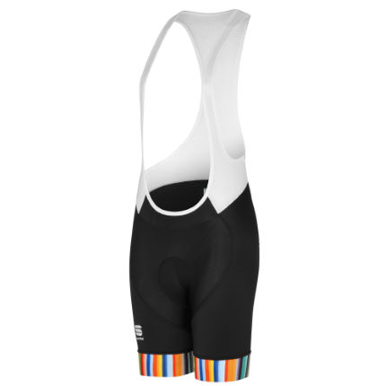 Sportful Women's Exclusive Rainbow BodyFit Bib Shorts