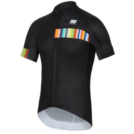 Maillot de manga corta Sportful Exclusive Rainbow BodyFit LTD