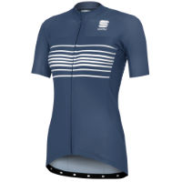 Maillot de manga corta Sportful Exclusive Stripe BodyFit Team para mujer