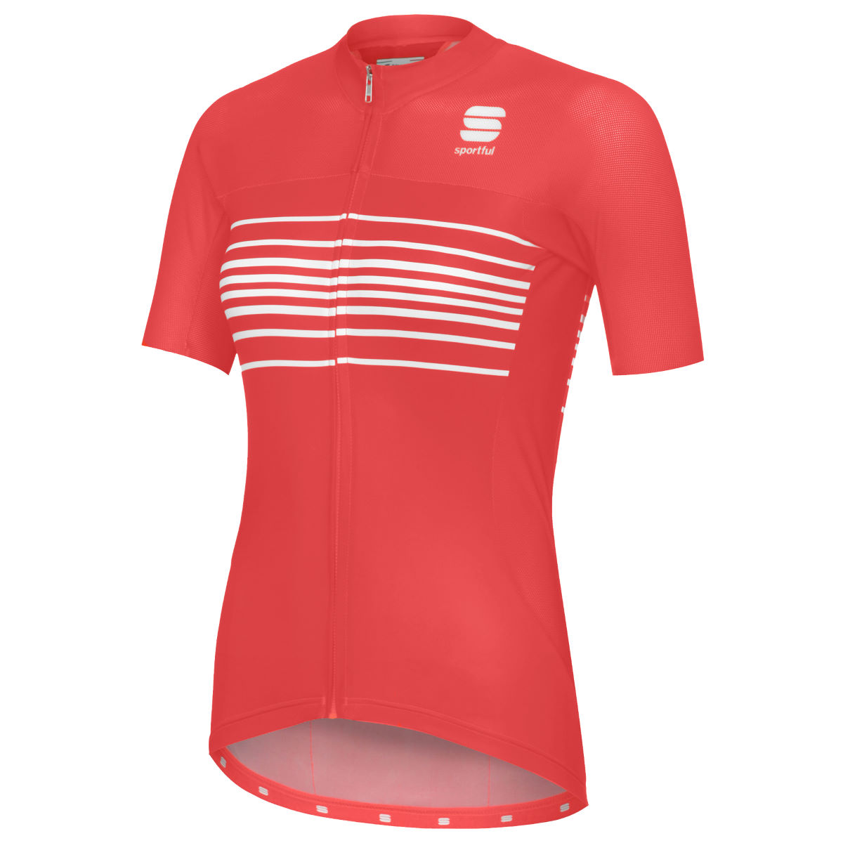 Maillot Femme Sportful Exclusive Stripe BodyFit Team - L Fluro