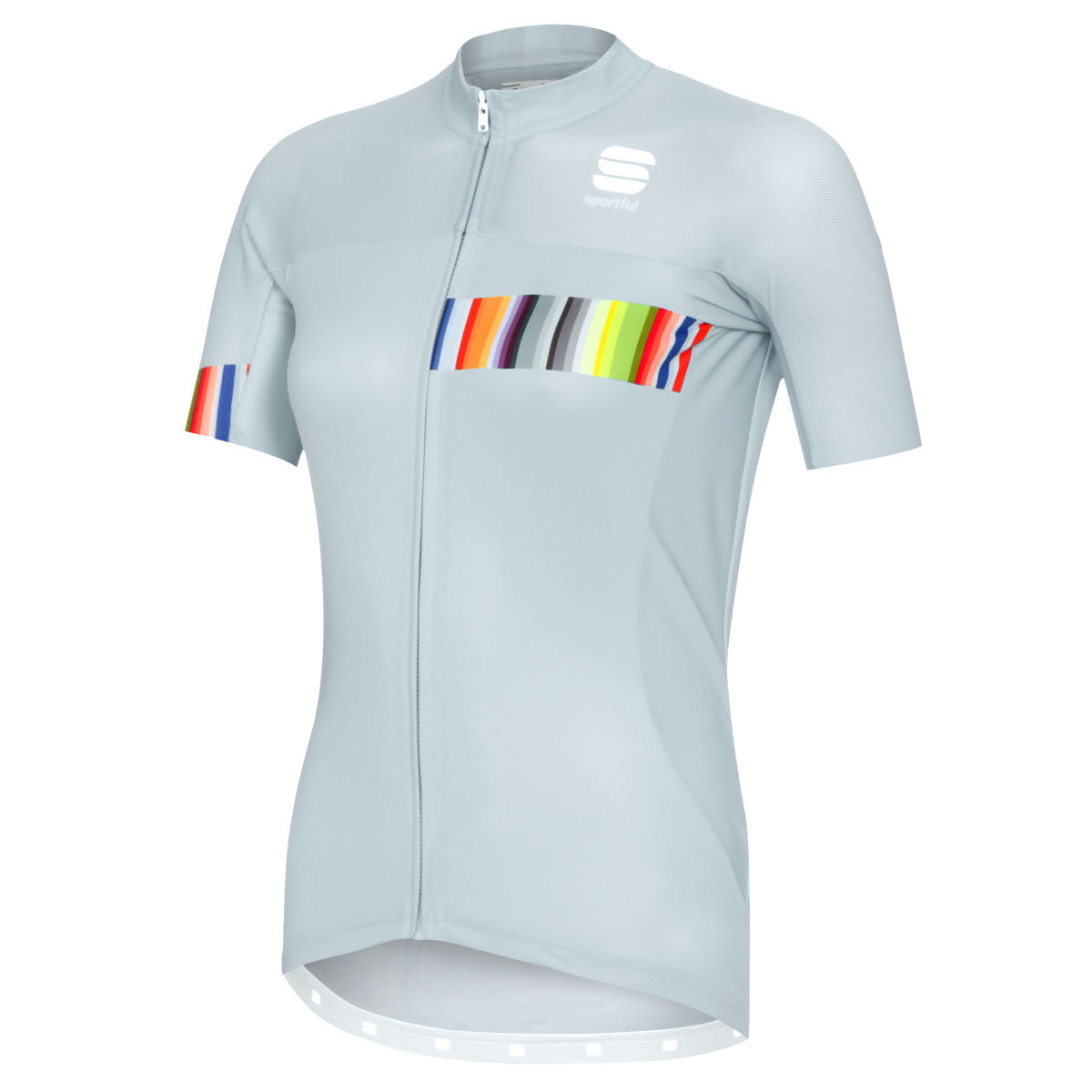 Maillot Femme Sportful Exclusive Rainbow BodyFit Team - XS Grey