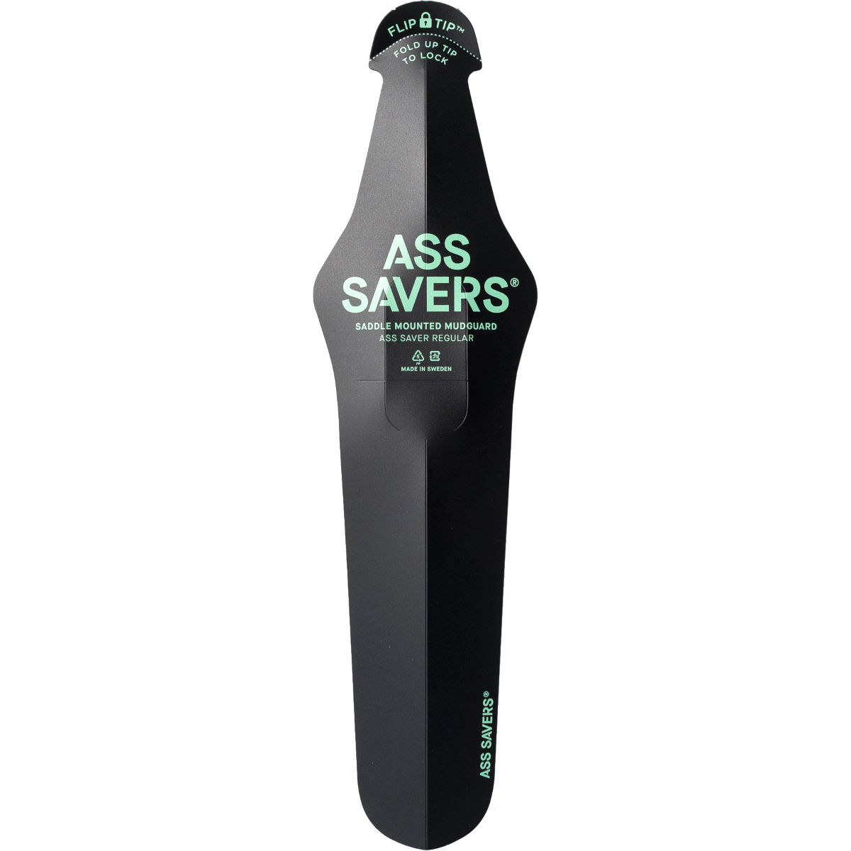 Garde-boue Ass Saver Regular - Noir Garde-boues