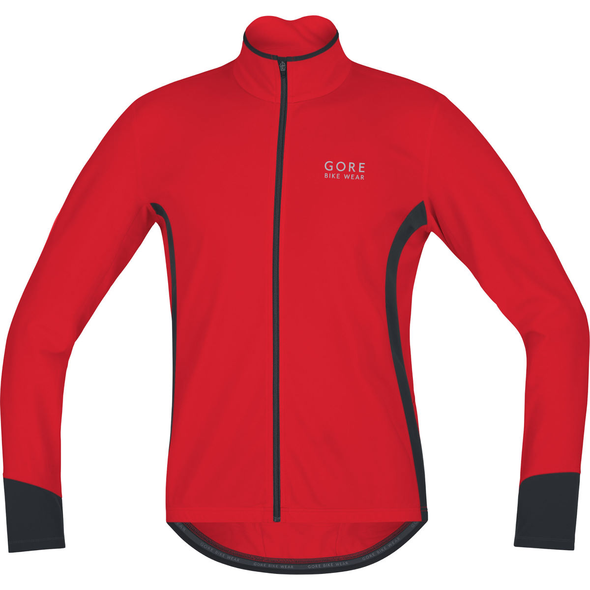 Gore Bike Wear - Power 2.0 Thermo Jersey - XL Rouge/Noir