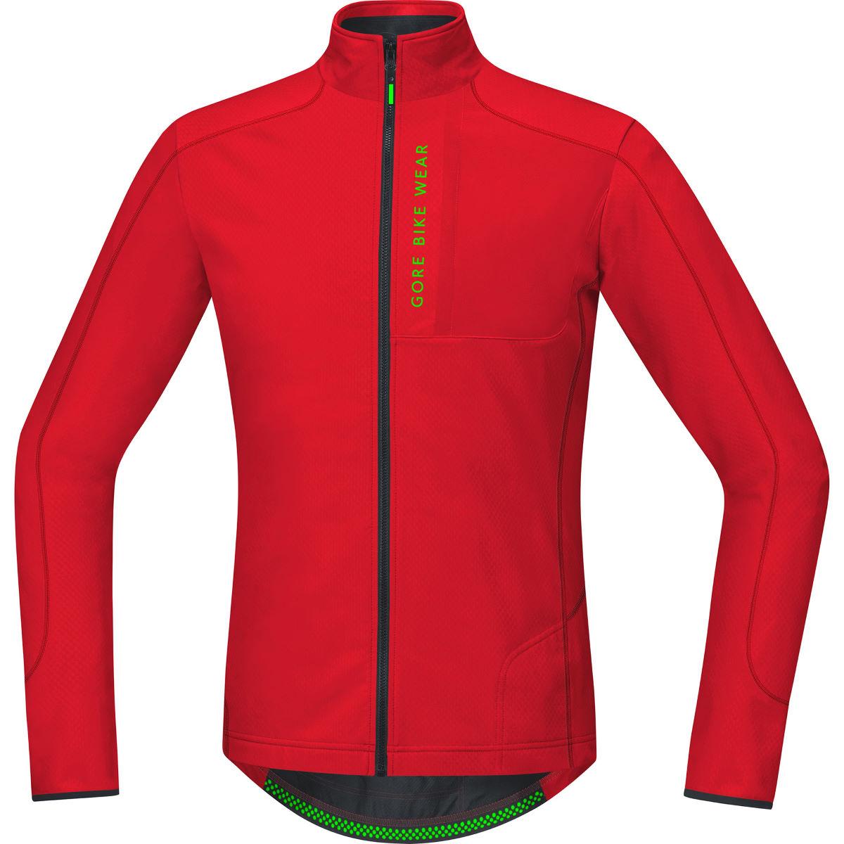 Gore Bike Wear - Power Trail Thermo Long Sleeve Jersey - XL Rouge